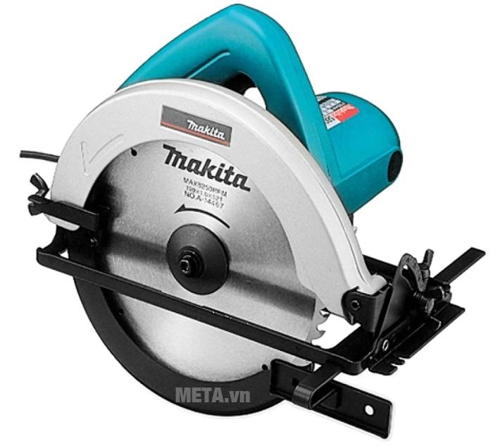 Máy cưa đĩa Makita 5806B có khả năng chống bụi tốt.