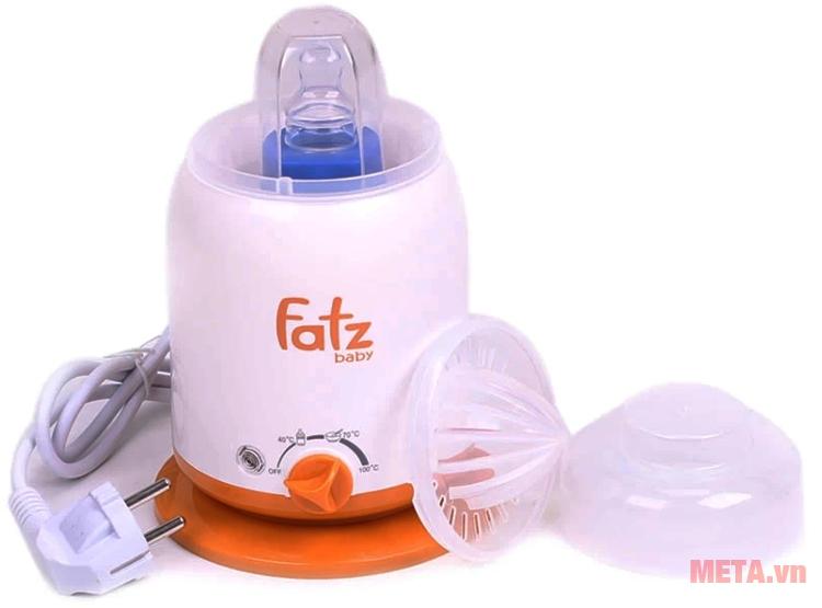 Máy hâm sữa 4 chức năng Fatzbaby FB3002SL sử dụng chất liệu an toàn.