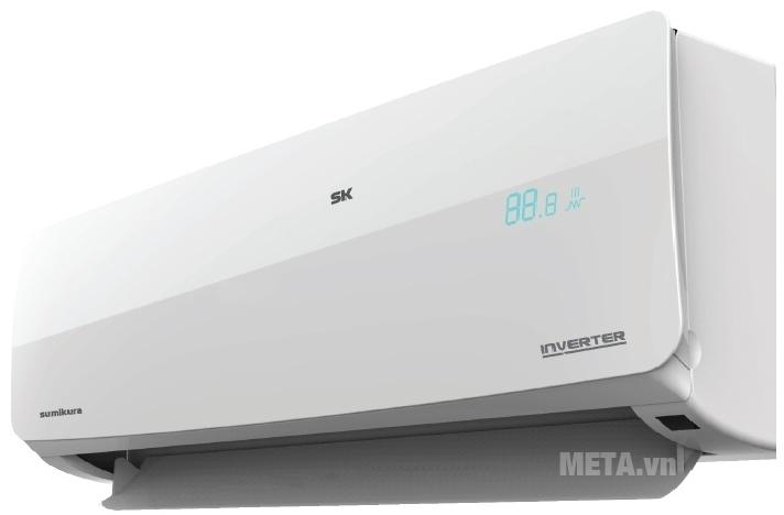 Điều hòa 2 chiều Inverter 12000 BTU Sumikura APS/APO-H0120DC cho luồng gió lan tỏa khắp căn phòng.