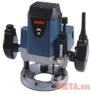 Máy soi gỗ Gomes GB-3312 thiết kế 2 tay cầm giúp điều khiển máy dễ dàng.