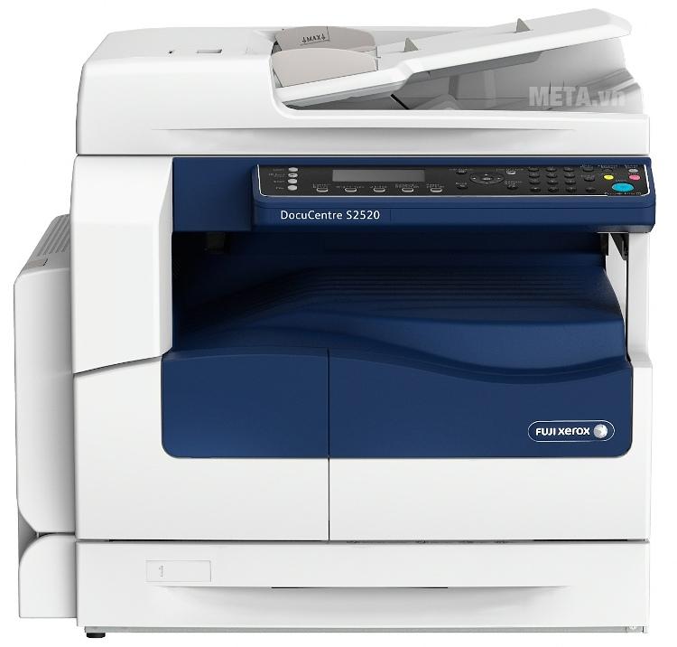 Máy photocopy Fuji Xerox DocuCentre S2520 khởi động nhanh và tiết kiệm điện năng.