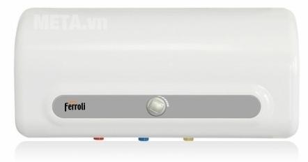 Bình nóng lạnh gián tiếp Ferroli QQ ME 30 lít thiết kế lớp vỏ luôn sáng bóng theo thời gian.
