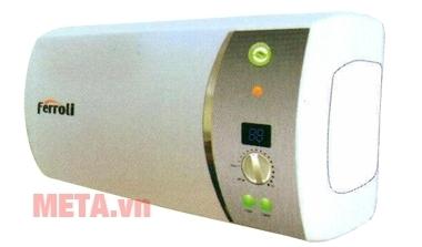 Bình nóng lạnh gián tiếp Ferroli Ferroli VERDI-20 SE làm nóng nước nhanh nhờ công suất cao.