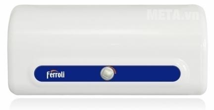 Bình nóng lạnh gián tiếp Ferroli QQ AE 20 lít có thanh đốt tráng men siêu bền.