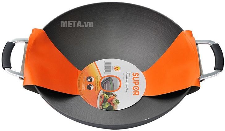 Chảo xào Supor H07011-4 H714 40cm