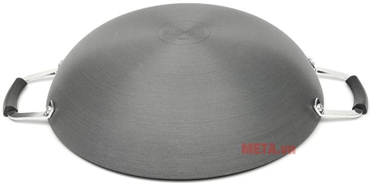 Chảo xào Supor H07011-4 H714 40cm với thiết kế đáy chảo chắc chắn