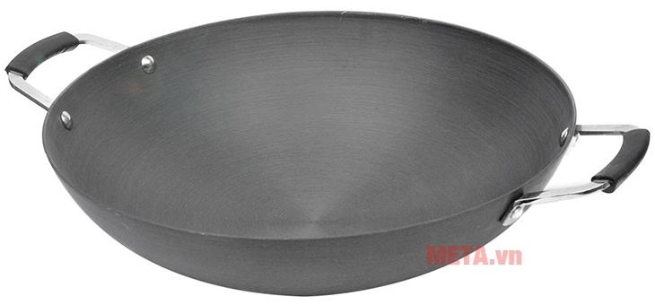 Chảo xào Supor H07011-4 H714 40cm với thiết kế lòng chảo sâu.