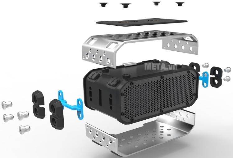 Loa Braven BRV Pro với cấu tạo chắc chắn, có độ bền cao.