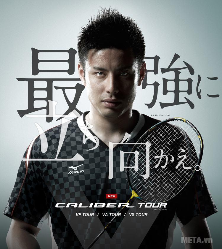 Vợt cầu lông Mizuno Caliber VA Tour là dòng vợt mới của Mizuno.