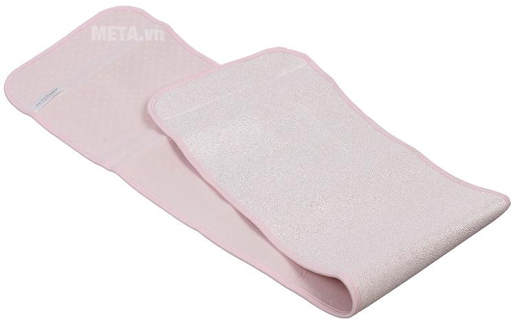 Gen nịt bụng cho mẹ sau sinh size L Kuku S7509 với chất liệu vải thông thoáng.