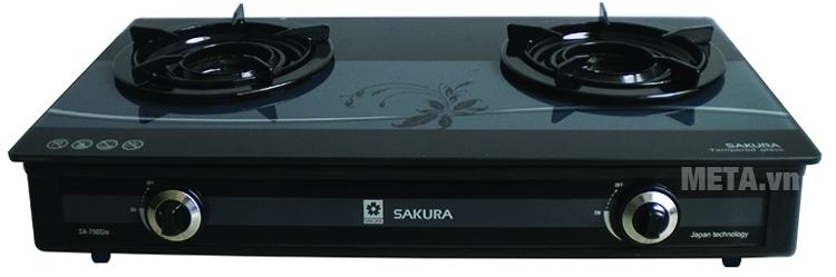 Bếp gas Sakura SA-790G(IN) có chân đế vững chắc.