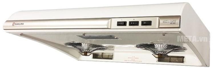 Máy hút mùi Sakura SR-2883W phù hợp cho mọi không gian nhà bếp.