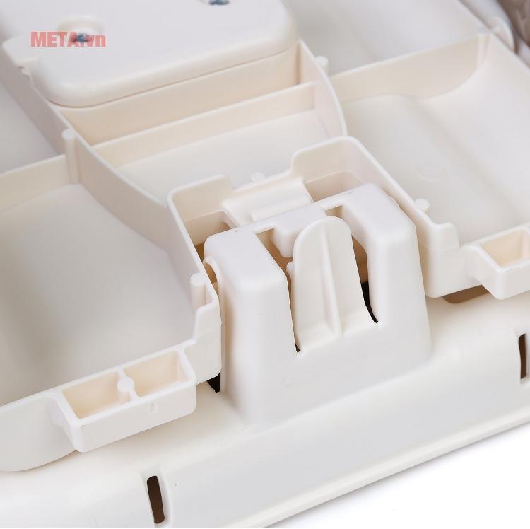 Ghế ăn Deluxe kẻ Deluxe Comfort Folding Booster Seat Summer Infant