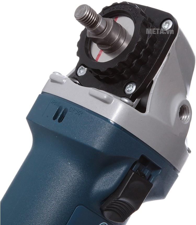 Máy mài góc với thiết kế nút điều chỉnh thuận tiện sử dụngMáy mài góc Bosch GWS 060 với thiết kế nút điều chỉnh thuận tiện sử dụng.