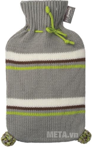 Túi chườm nóng lạnh Fashy 6705 bọc len màu xám
