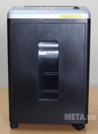 Máy hủy tài liệu Silicon PS-650C có màu đen chủ đạo