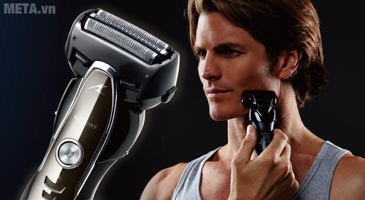 Máy cạo râu Panasonic ES-ST25 cho tốc độ không đổi tới khi hết pin.
