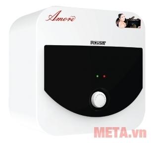 Bình nóng lạnh Rossi Amore RA-15SQ sử dụng núm vặn dễ điều chỉnh.