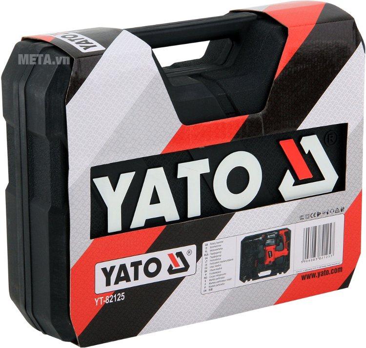 Máy khoan búa - 2 chức năng Yato YT-82125 với hộp đựng sang trọng.