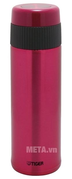 Bình giữ nhiệt lưỡng tính Tiger MMR-A045 450ml màu hồng.