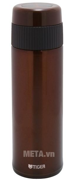 Bình giữ nhiệt lưỡng tính Tiger MMR-A045 450ml màu nâu.
