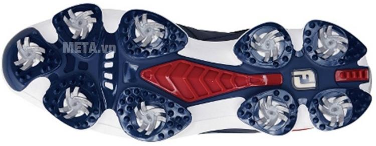 Giày golf nam FootJoy Hyper Flex BOA 51019 với thiết kế đế giày 9 đinh.