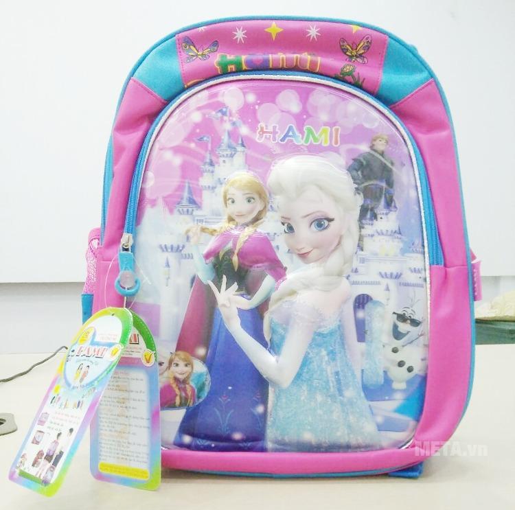 Ba lô học sinh Hami BL299 in hình nàng Công chúa dễ thương, thích hợp dùng cho bé gái.