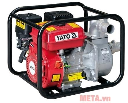 Máy bơm nước chạy xăng Yato YT-85401 bơm nước nhanh giúp tiết kiệm xăng.