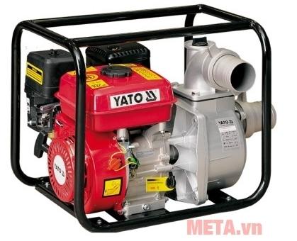 Máy bơm nước chạy xăng Yato YT-85402 được sử dụng nhiều trong sản xuất nông nghiệp.