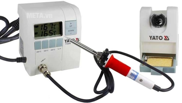 Máy kiểm tra nhiệt độ hàn Yato YT-82455 có thể điều chỉnh được nhiệt độ