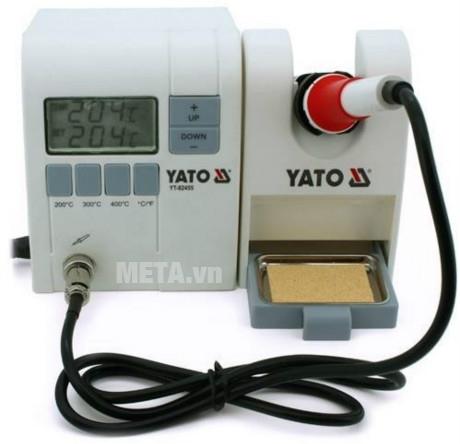 Máy kiểm tra nhiệt độ hàn Yato YT-82455 có màn hình LCD hiển thị số
