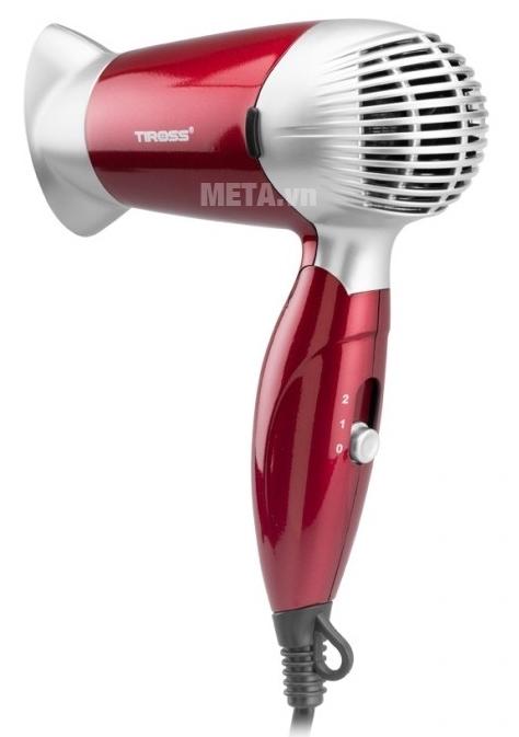 Máy sấy tóc Tiross TS429 màu đỏ