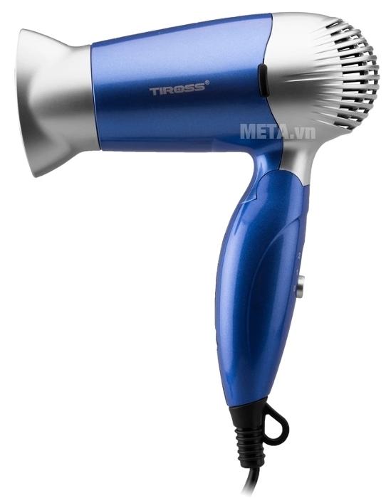 Máy sấy tóc Tiross TS429 màu xanh