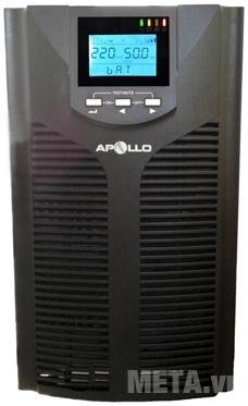 Bộ lưu điện online Apollo 6kVA 5400W AP906PS với thiết kế nhỏ gọn.