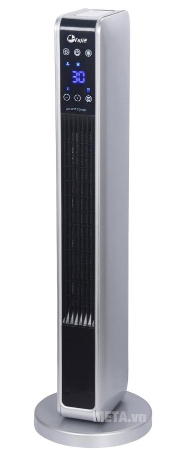 Quạt sưởi gốm Ceramic để sàn FujiE CH-2200 không phát sáng khi hoạt động giúp dễ ngủ.