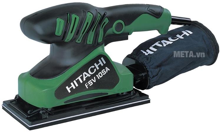 Máy chà nhám rung Hitachi FSV10SA thay giấy nhám rất nhanh, cho đường chà nhám nhẵn mịn, đẹp mắt.
