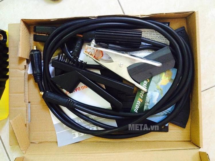 Phụ kiện đi kèm với máy hàn Inverter BGAS BGA 200C