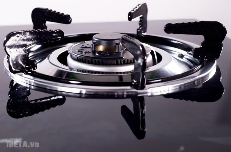 Bếp gas dương kính Sunhouse SHB301HP-MT thiết kế kiềng bếp siêu bền.
