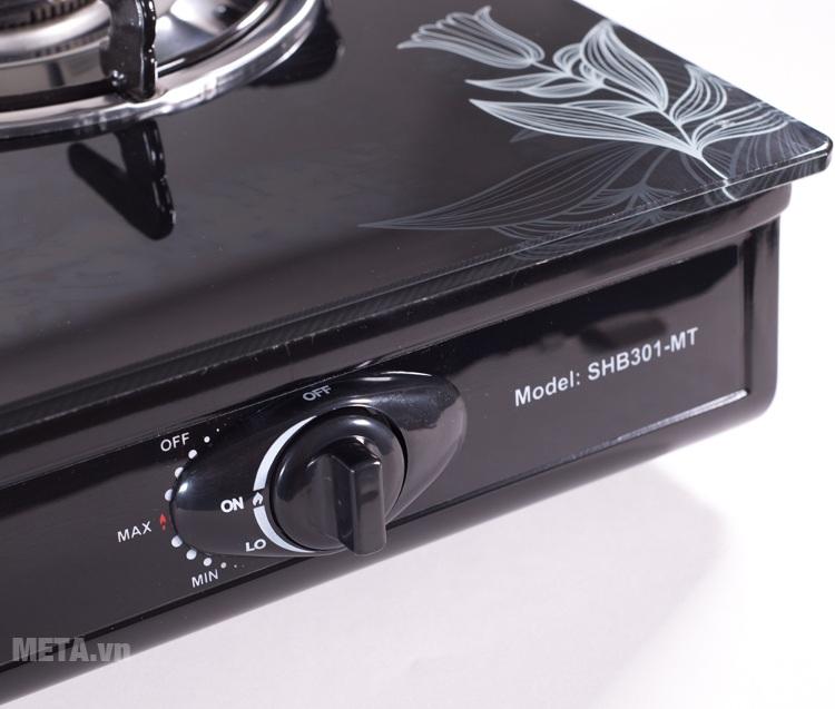 Bếp gas dương kính Sunhouse SHB301HP-MT thiết kế hệ thống đánh lửa Magneto