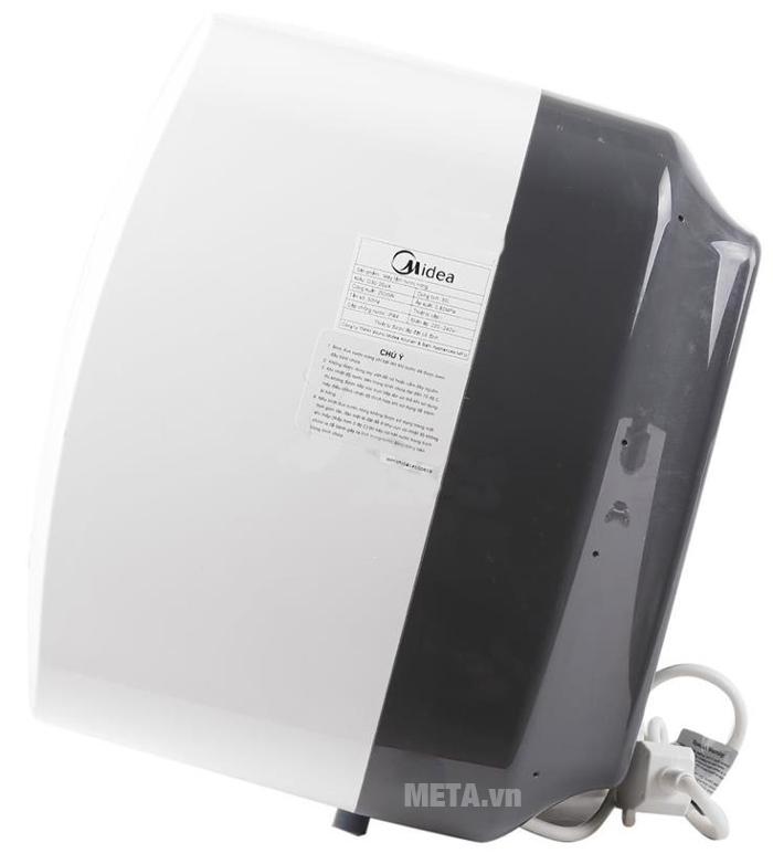 Bình nóng lạnh gián tiếp Midea D30-25VA làm nóng nước rất nhanh.