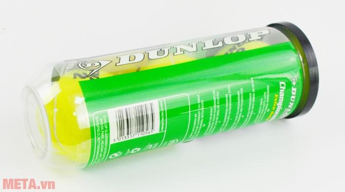Bóng tennis Dunlop Championship Extra Duty có hộp đựng bằng nhựa.