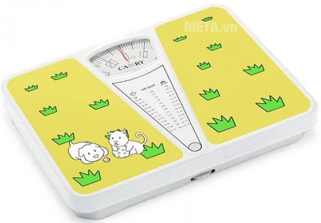 Cân sức khỏe Camry BR3010-105A với đồng hồ hiển thị số kg.