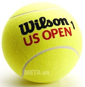 Bóng tennis Wilson Us Open có màu vàng chanh