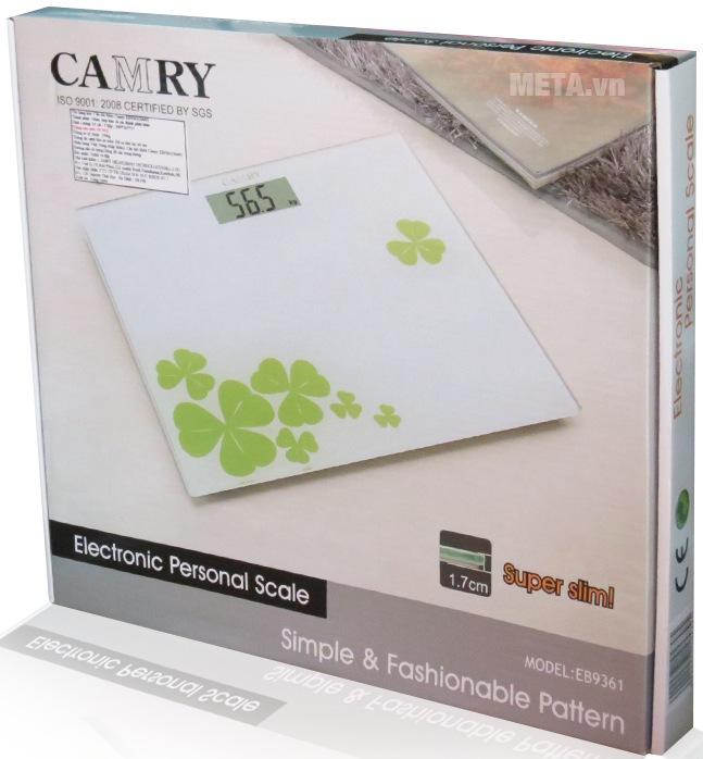 Hộp đựng cân điện tử Camry EB9361-S649.