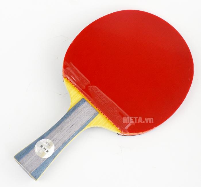 Vợt bóng bàn mút DHS-6002 có một mặt màu đỏ