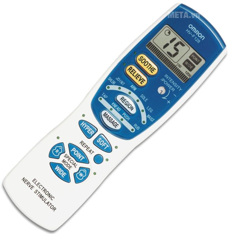 Máy massage xung điện HV-F128 có thiết kế nhỏ gọn, dễ sử dụng mang lại hiệu quả trị liệu nhanh chóng.