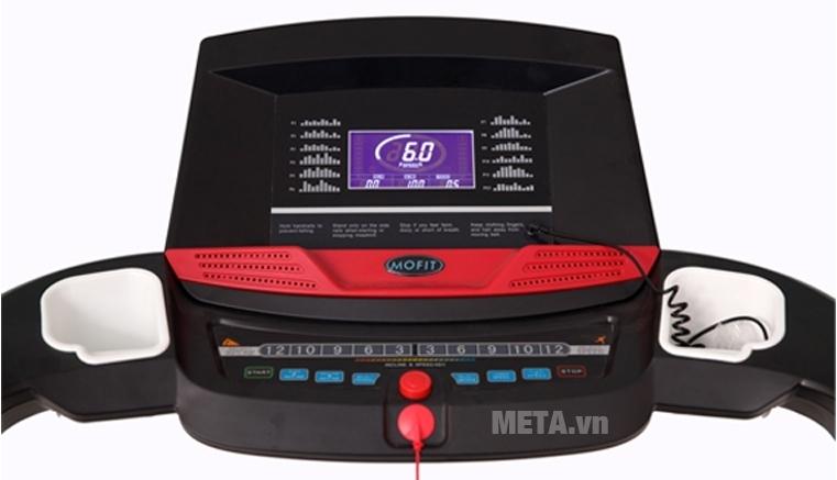 Máy chạy điện cao cấp MHT-2421M có jack cắm nghe nhạc MP3