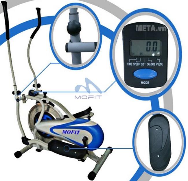 Xe đạp tập Obitrac Elite MO-2081 với những thiết kế ưu việt.