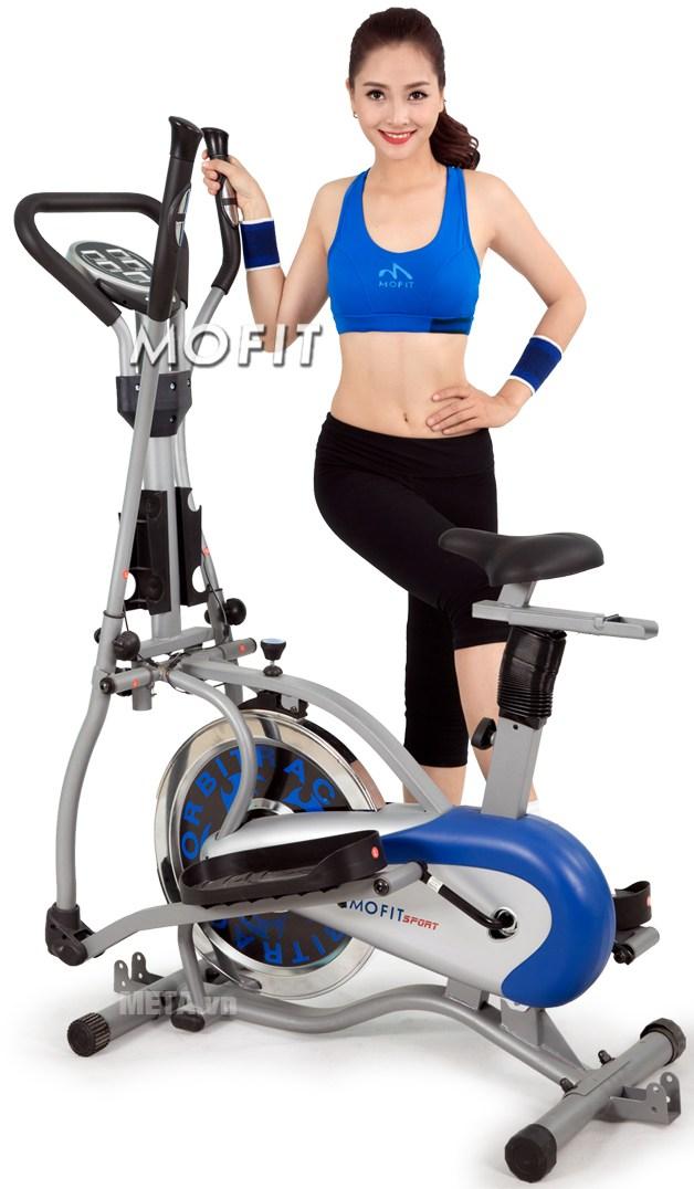 Xe đạp tập Obitrac Elite MO-2085 giúp bạn có một thân hình khỏe mạnh, bền bỉ và dẻo dai.