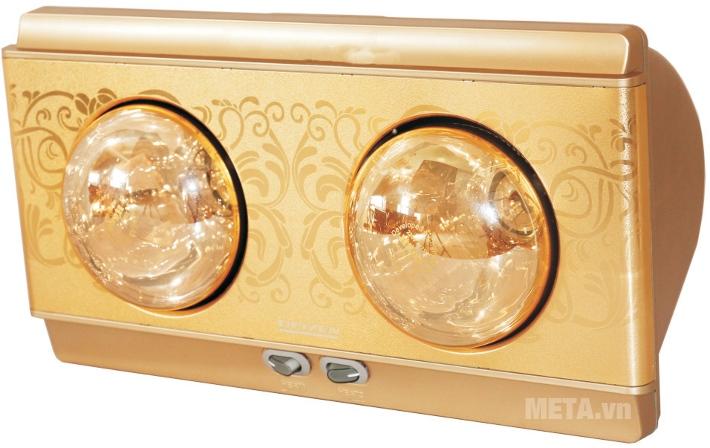 Đèn sưởi nhà tắm Heizen HE-2B là sản phẩm duy nhất trên thị trường được bảo hành 10 năm.